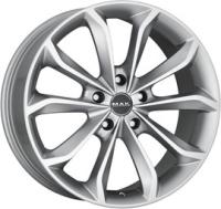 MAK Xenon Hyper Silver 8.5x20 5x108 DIA72 ET45