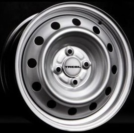 Trebl X40038 5.5x15 4x100 DIA60.1 ET43 Silver